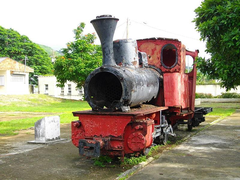 南洋興発の蒸気機関車