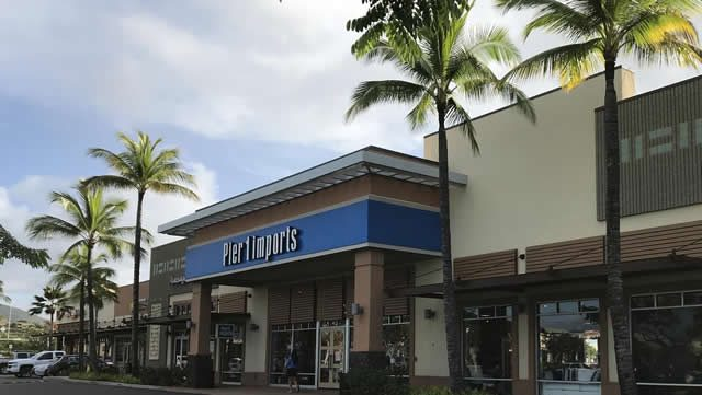 カポレイコモンズのPier 1 Imports, Pacific Business News