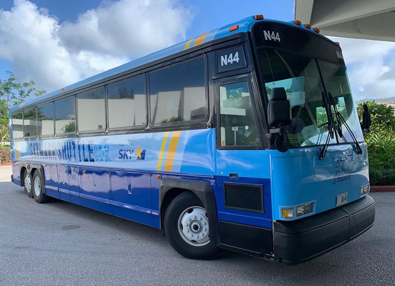 スカイマークのシャトルバス