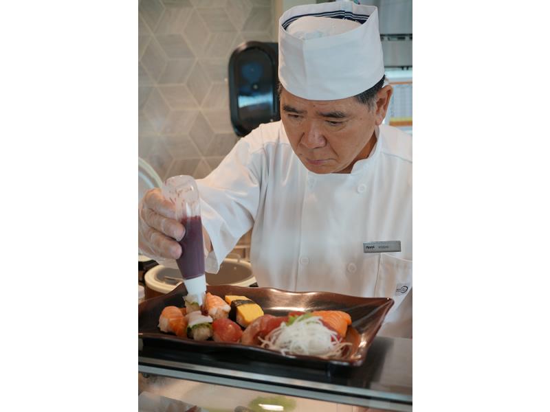 日本人寿司職人